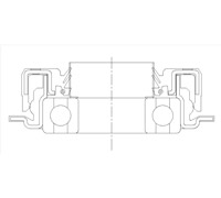 Washing Machine Tub Seal Drawing